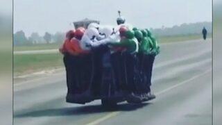 58 Hintli 1 motosiklete binerse!