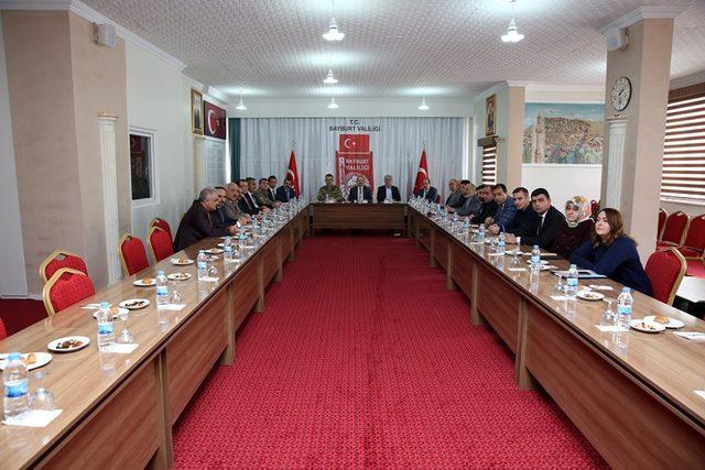 Uyuşturucu ile mücadele kurulu toplantısı gerçekleştirildi