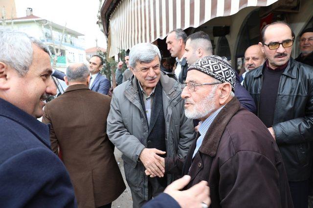 Başkan Karaosmanoğlu Körfez'i gezdi