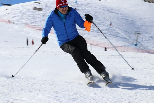 Bingöl'de kayak yarışması