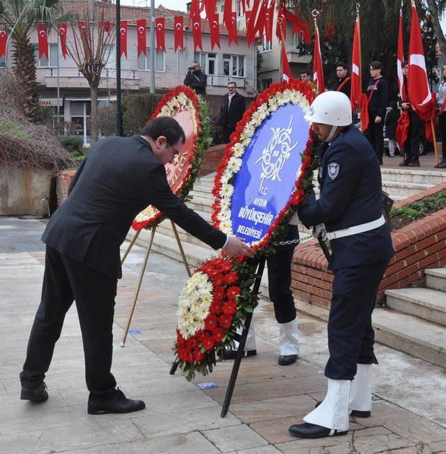 Atatürk'ün Aydın'a gelişinin 87'nci yıl dönümü kutlandı