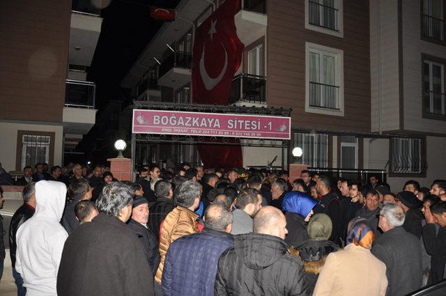 Afrin şehidi Halil İbrahim Aygül'ün acı haberi, Bursa'daki babasına verildi (2)