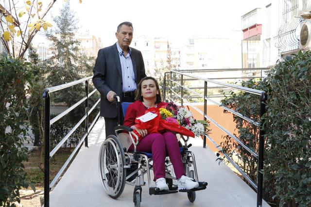 Apartmanda engelli rampası krizi çözüldü; Merve esaretten kurtuldu