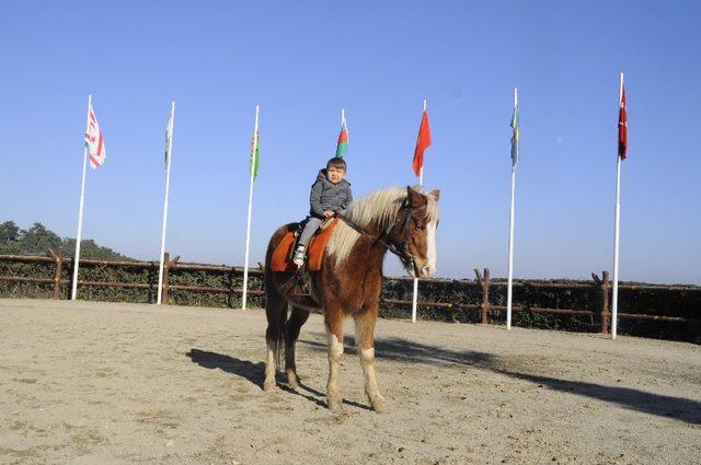Yarıyıl tatilinde Kazak Vadisine yoğun ilgi