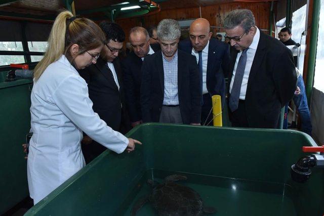 Vali Su, 100. Yıl Tabiat Parkı'nı ziyaret etti