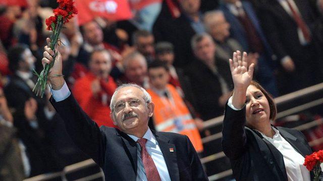 Kılıçdaroğlu ve eşi