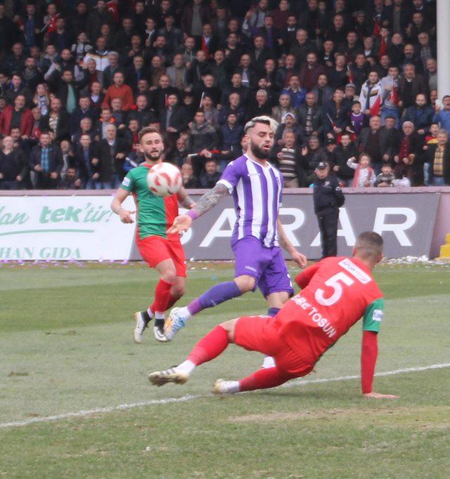Yeni Orduspor - Diyarbekirspor: 1-1