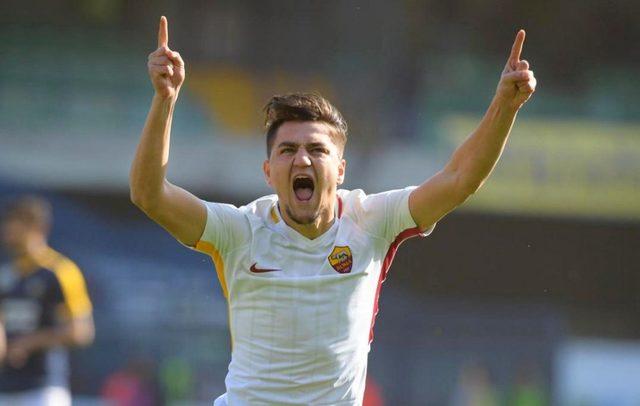 Cengiz ilk resmi golünü attı