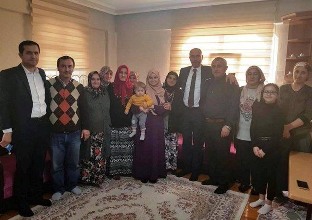 Başkan Togar'dan Afrin gazisine ziyaret