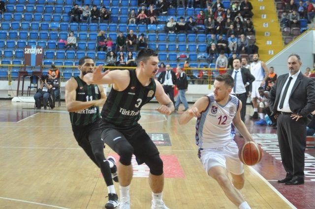 Tahincioğlu Basketbol Süper Ligi: Trabzonspor: 96 - Sakarya Büyükşehir Basketbol: 79
