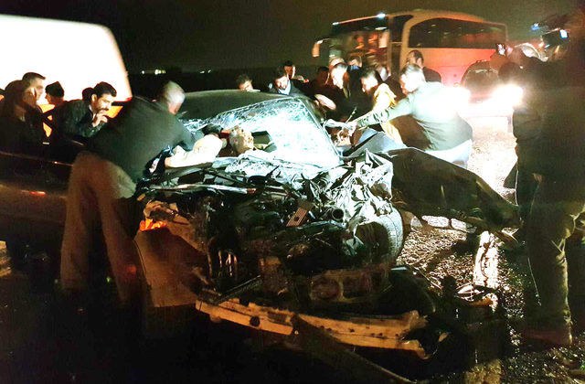 Sömestr tatil dönüşü kaza: 6 yaralı