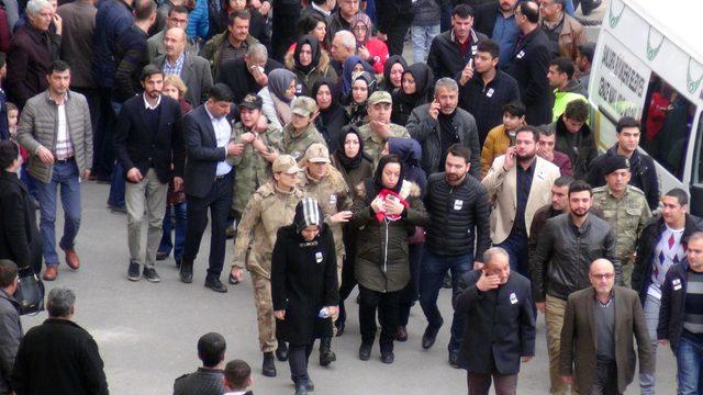 Şehit Teğmen Çubukçu'nun cenazesi Şanlıurfa'da