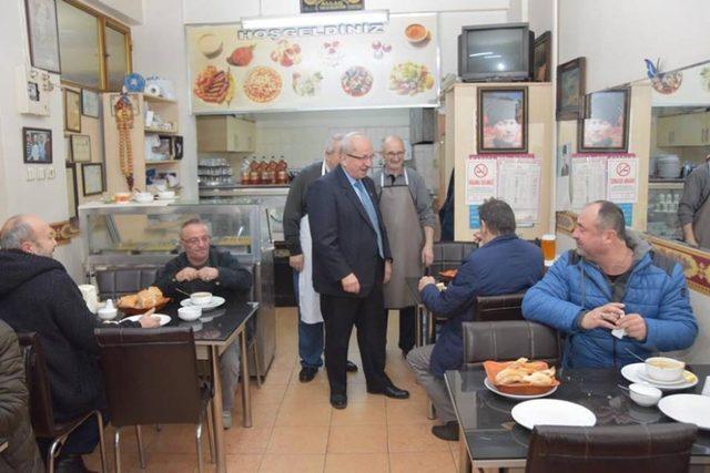 Başkan Albayrak, Süleymanpaşa'da çalışmaları incelendi