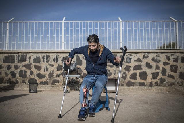 Yaralı ÖSO mensupları: Tek umudumuz Türkiye