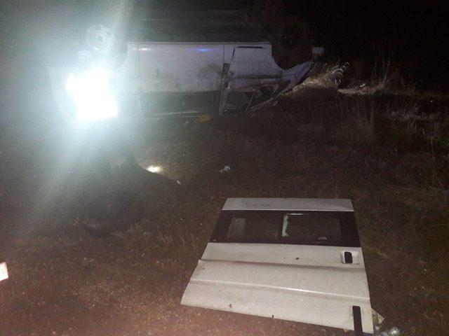 Cenazeye giden aile, Kastamonu'da kaza yaptı: 1 ölü, 11 yaralı