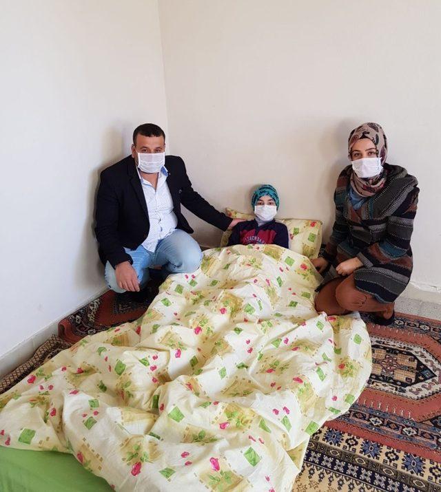 Cizre'de kanser hastasına anlamlı yardım