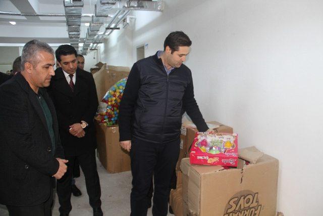 Bismil Belediyesinden anaokullara malzeme desteği