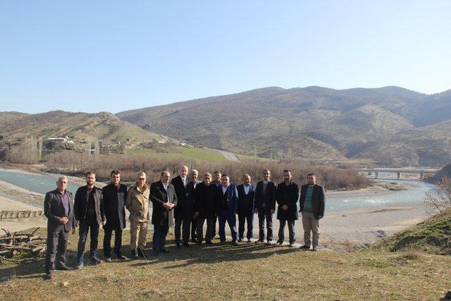 Başkan Dülgeroğlu'ndan mezra ziyaretleri