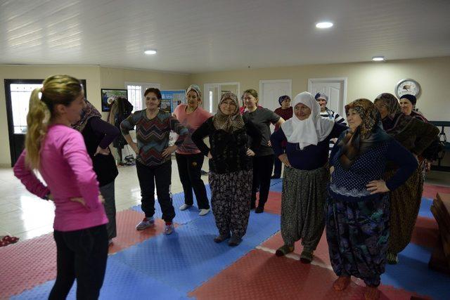 Başkan Ataç'tan istediler, şimdi spor yapıyorlar