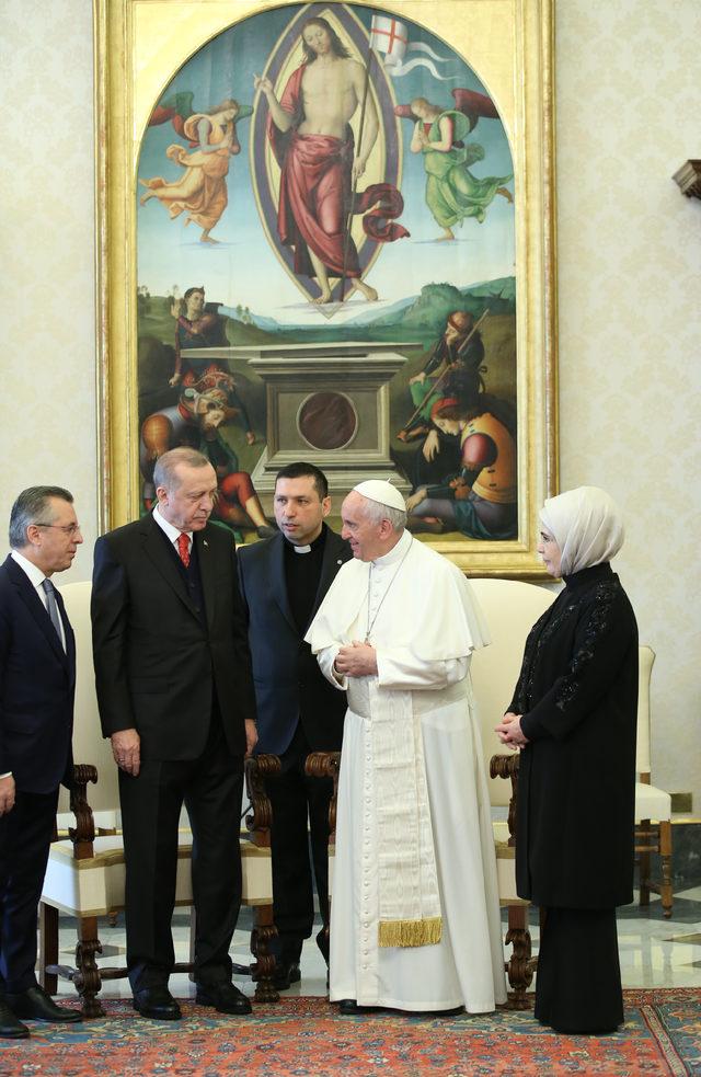 Vatikan : Samimi bir görüşme oldu