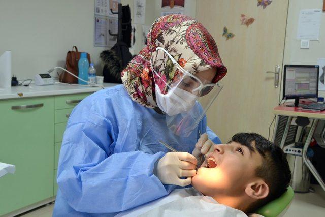 Yozgat Ağız ve Diş Sağlığı Merkezi'nde 138 bin hasta tedavi edildi