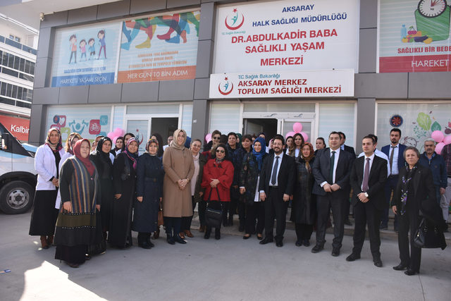 Aksaray'da kanser farkındalığını artırmak için 'KETEM' durağı açıldı