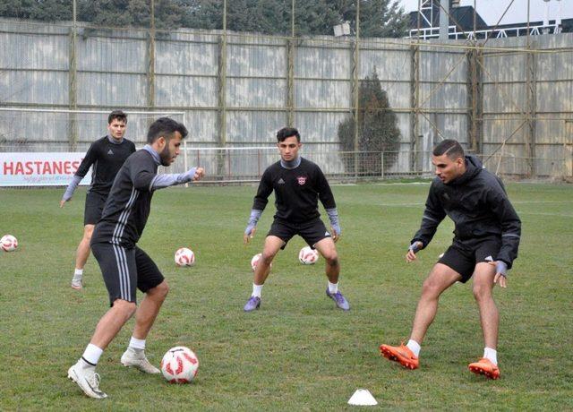Gaziantepspor'da Adana Demirspor hazırlıkları devam ediyor