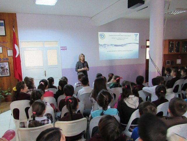 TESKİ öğrencilere su bilincini aşılıyor