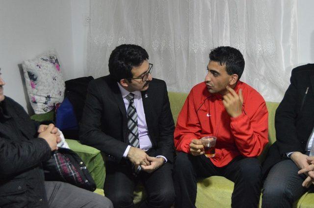 Afrin gazisi Burdur'da