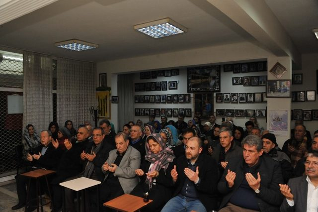 Balçova'da şehit Çubukçu için Mevlid