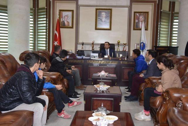 Nusaybin Belediyesinden sporculara destek