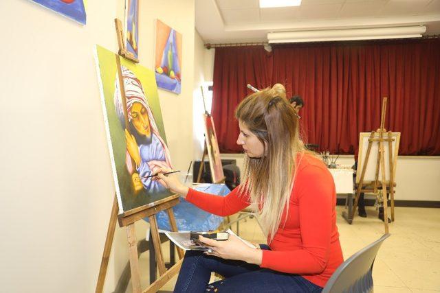Resim kursu kayıtları başladı