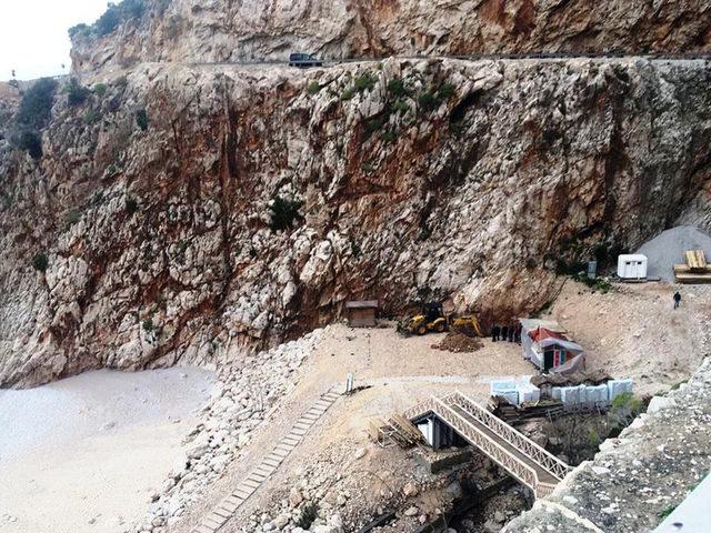 Başkan Kocaer: Kaputaş Plajı'nda 1 gram beton kullanılmadı