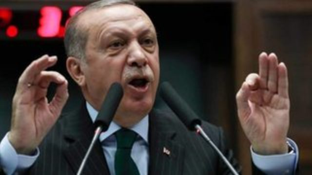 Erdoğan'dan ABD'ye: Münbiç'ten çıkın, oraya topraklarını asıl sahiplerine teslim etmek için geleceğiz