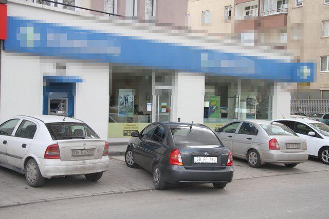 Kayseri'de silahlı banka soygunu (2)