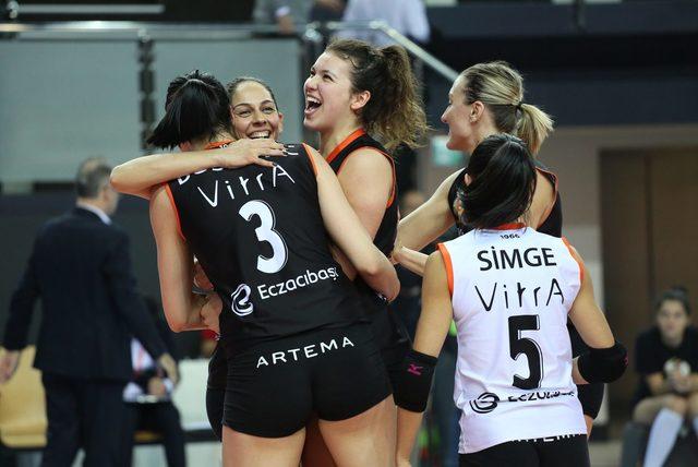 Eczacıbaşı VitrA çeyrek final bileti için İtalya'da