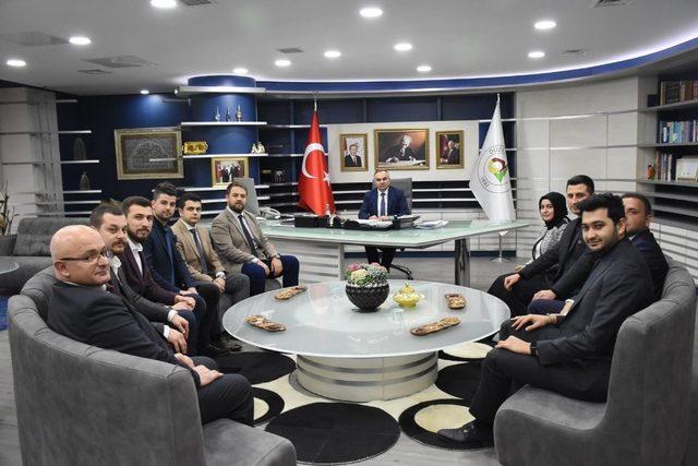 Başkan Ay Genç MÜSİAD yönetimini ağırladı