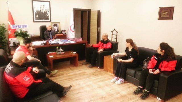 DAK'tan yeni Başhekim Uzm. Dr. Yaşar Bildirici'ye ziyaret