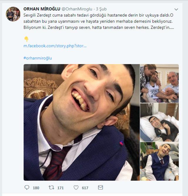 AK Parti Mardin Milletvekili Orhan Miroğlu'nun evlat acısı