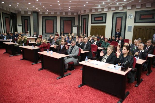 Melikgazi Meclisinin konusu 'Zeytin Dalı Harekatı' oldu