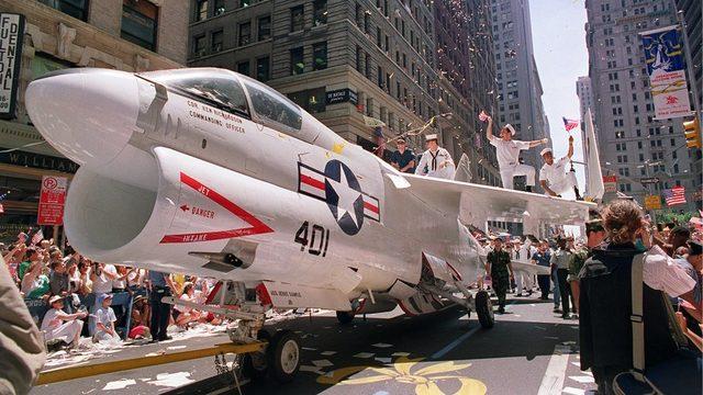 ABD'de son büyük askeri geçit töreni 1991'de Birinci Körfez Savaşı'ndaki zaferin ardından yapılmıştı.