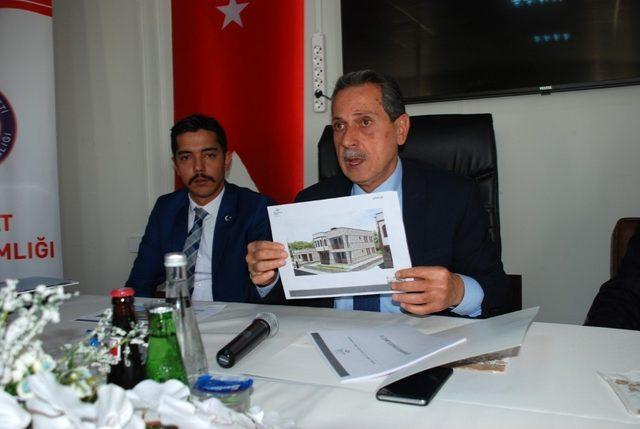 Samsat'ta afet konutlarının inşa süreci ile ilgili bilgilendirme toplantısı yapıldı