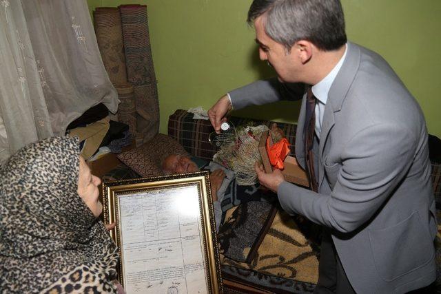 Başkan Şirin'den yarım asırlık çifte duygulandıran ziyaret