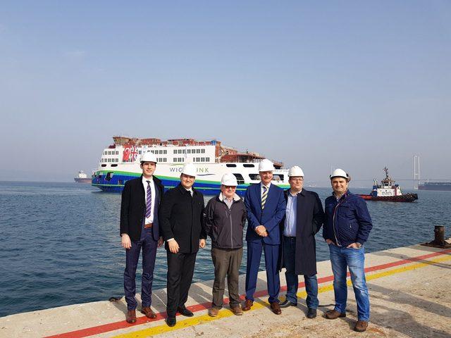 Yalova'dan İngiltere'ye 35 milyon euroluk feribot