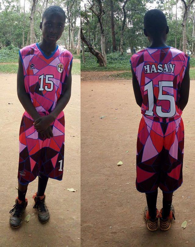 Hasketbol Kulübü, Kenya'nın Yala Basketbol Akademisi'ne malzeme yardımında bulundu