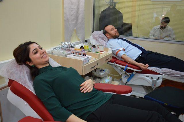 "AK Parti İl Başkanı Dağdelen: ""Kanımızla canımızla hizmetinizdeyiz"""