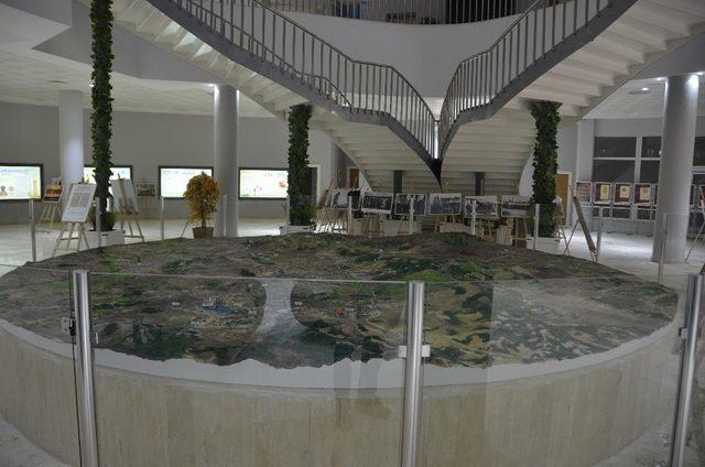 Büyük Taarruzu anlatan arazi maketi yapıldı