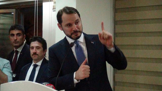 Bakan Albayrak: Düşen her top ve mermi Reyhanlı'yı, Hatay'ı ve Türkiye'yi kenetliyor (3)