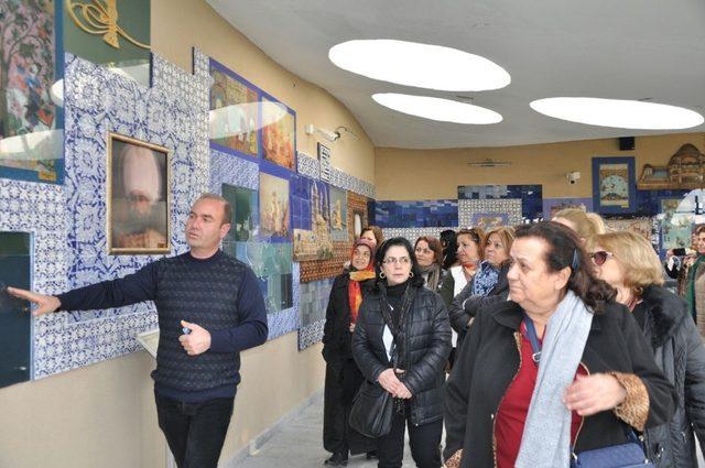 İstanbul ve Rumeli Balkan Kadın Kolları'ndan Bilecik'e ziyaret