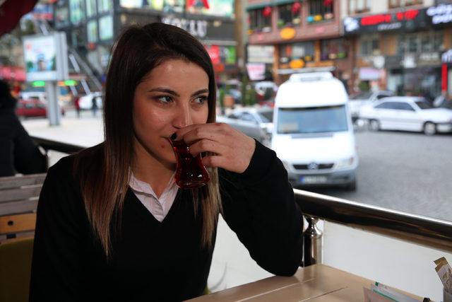 Çay içmek kalbe iyi geliyor
